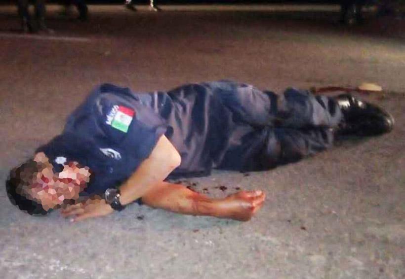 Policía al borde de la muerte | El Imparcial de Oaxaca