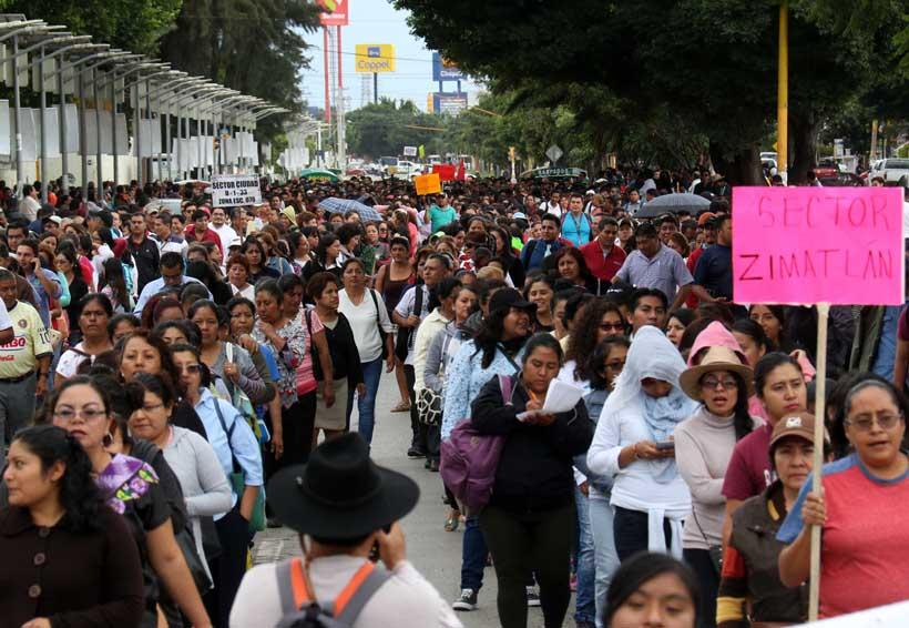 Protestas del 2 de octubre no generan disturbios en Oaxaca | El Imparcial de Oaxaca