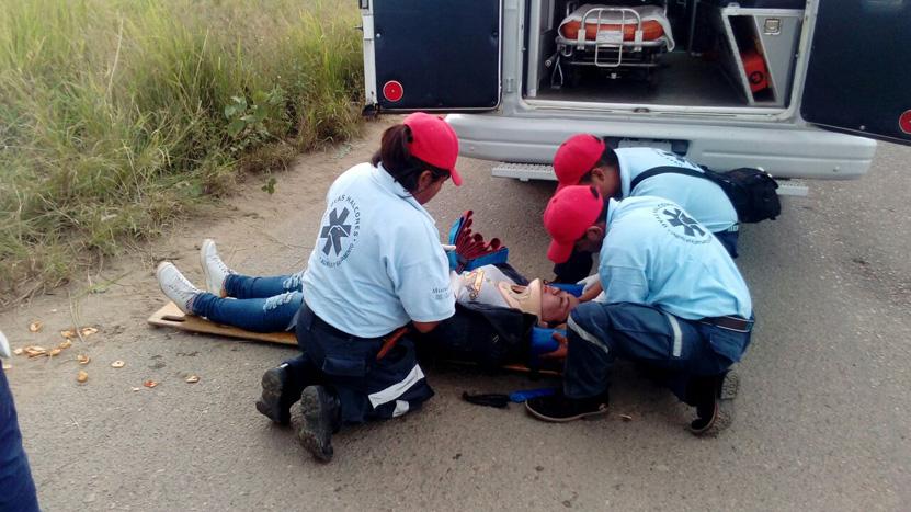 Tres motociclistas sufren accidentes en la capital   El Imparcial de Oaxaca