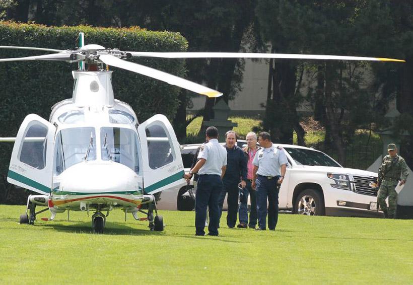 Emilio Gamboa usa helicóptero de la Fuerza Aérea para ir a jugar golf   El Imparcial de Oaxaca