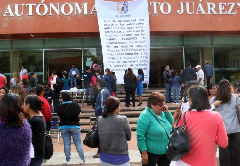 Emplaza STEUABJO a rector explique situación financiera   El Imparcial de Oaxaca