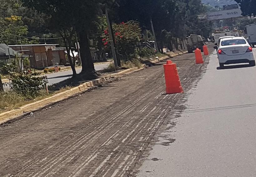 Comercios resienten lentitud de obras en crucero de Viguera, Oaxaca | El Imparcial de Oaxaca