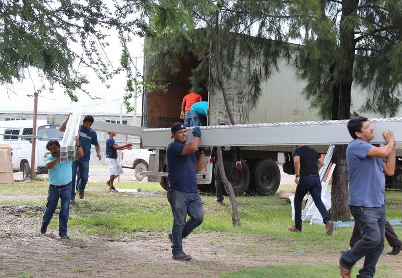 A Huajuapan de León envían aulas provisionales | El Imparcial de Oaxaca