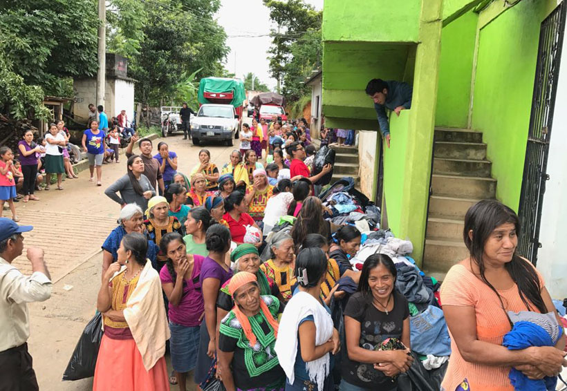 Poblaciones mixes, sin plan de reconstrucción   El Imparcial de Oaxaca