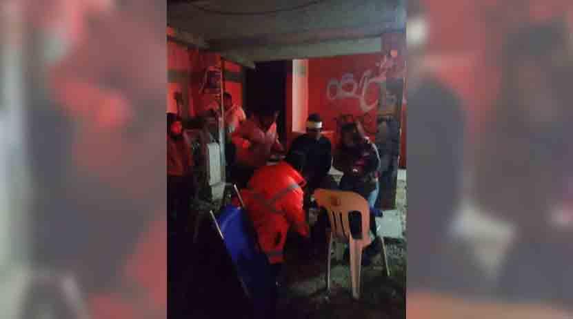 Se lleva auto particular de 'corbata' a motociclistas en la Villa de Etla | El Imparcial de Oaxaca