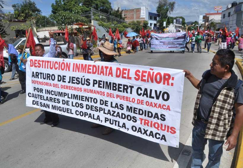Defensoría condena las agresiones a sus instalaciones en Oaxaca   El Imparcial de Oaxaca