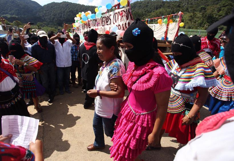 Marichuy visita pueblos zapatistas y critica trampas del INE a su candidatura | El Imparcial de Oaxaca