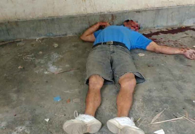 ¡Lo matan a machetazos!   El Imparcial de Oaxaca