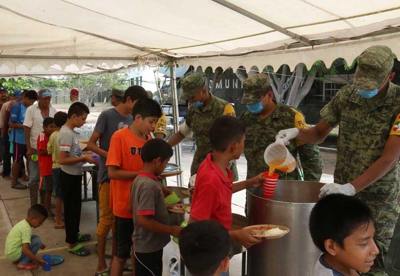 Tiende el Ejército la mano al Istmo, Oaxaca | El Imparcial de Oaxaca