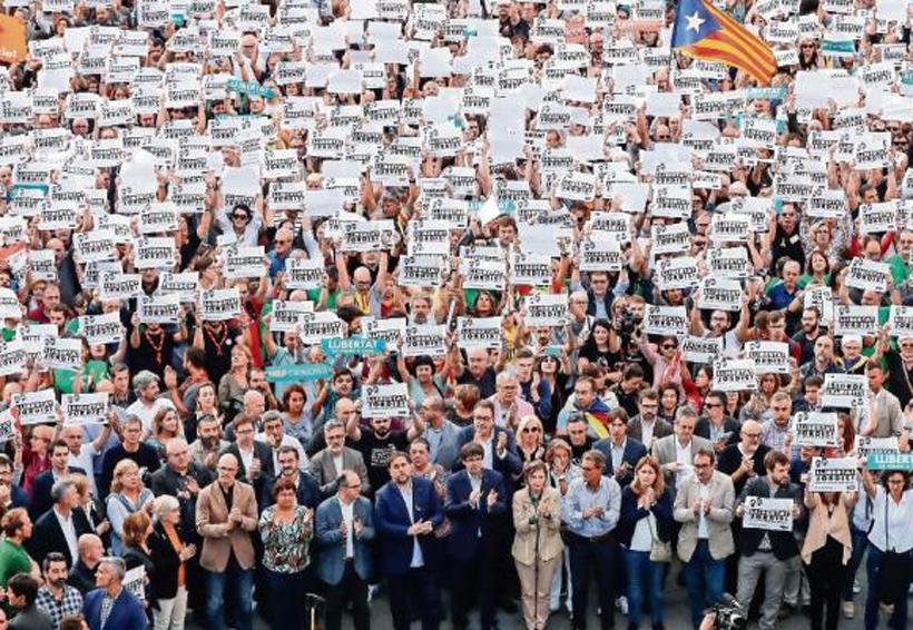 Rajoy activa artículo 155; cesará al gobierno catalán   El Imparcial de Oaxaca