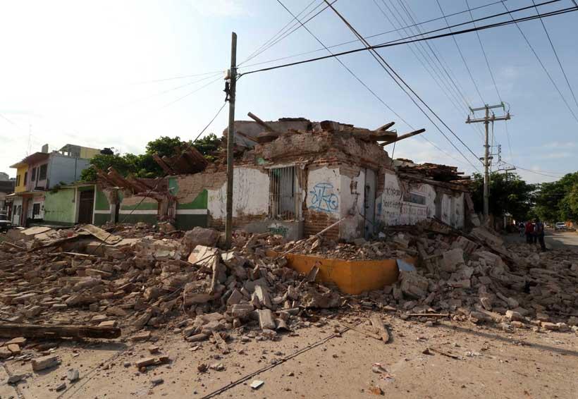 Piden condonar pagos de luz y agua a damnificados por sismos   El Imparcial de Oaxaca