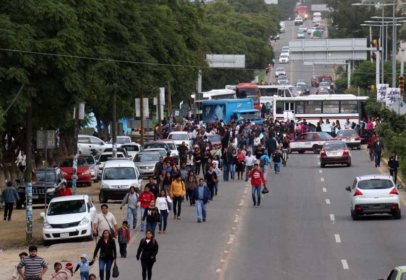 Daños en escuelas causan bloqueos en Oaxaca | El Imparcial de Oaxaca