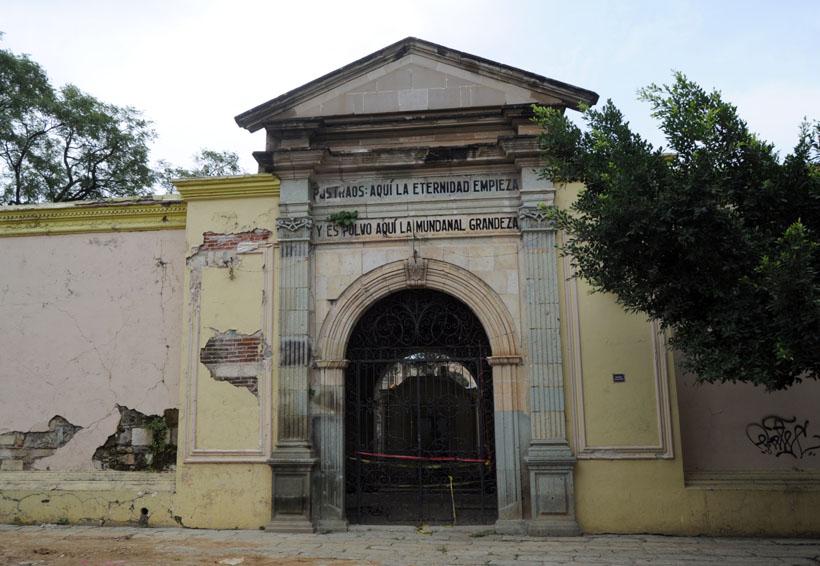 INAH presentará dictamen final sobre los daños al panteón de San Miguel, Oaxaca | El Imparcial de Oaxaca