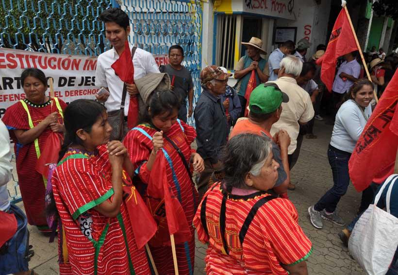 En Oaxaca, mantiene Sol Rojo exigencia para que se vaya Peimbert | El Imparcial de Oaxaca