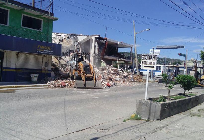 Continúa demolición de  viviendas en el puerto de Salina Cruz, Oaxaca | El Imparcial de Oaxaca