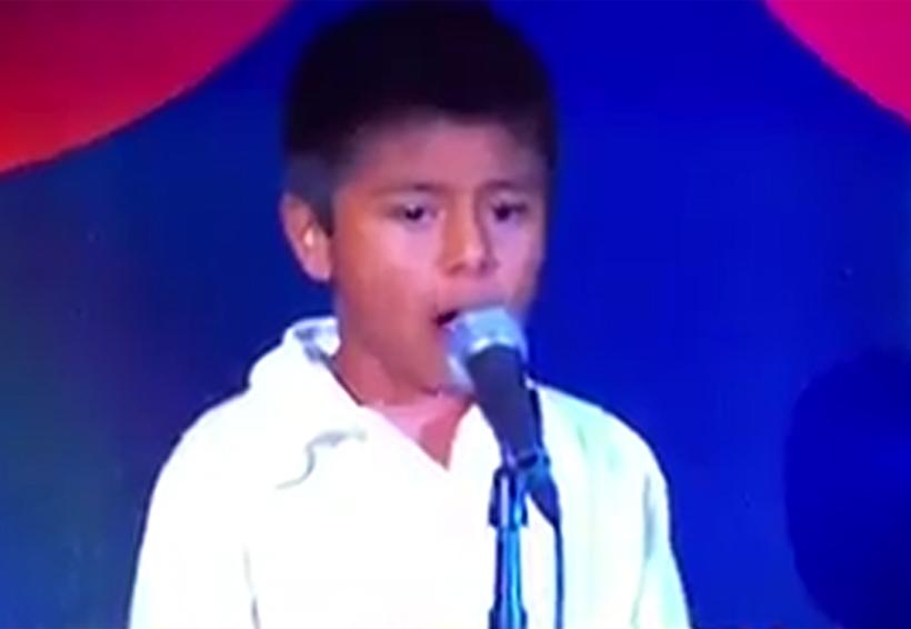 Video: Niño oaxaqueño interpreta Himno Nacional en el Zócalo de la CDMX | El Imparcial de Oaxaca