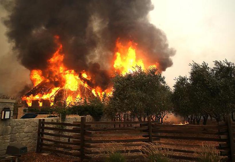 Arrasa incendio en zona de migrantes oaxaqueños | El Imparcial de Oaxaca
