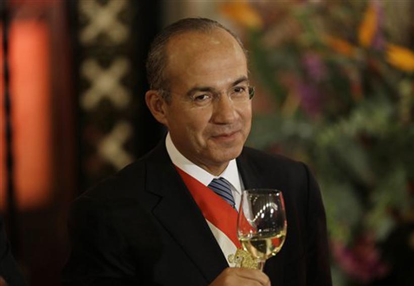 Anaya y Barrales 'como el nopal', cada vez les encuentran más propiedades: Felipe Calderón | El Imparcial de Oaxaca