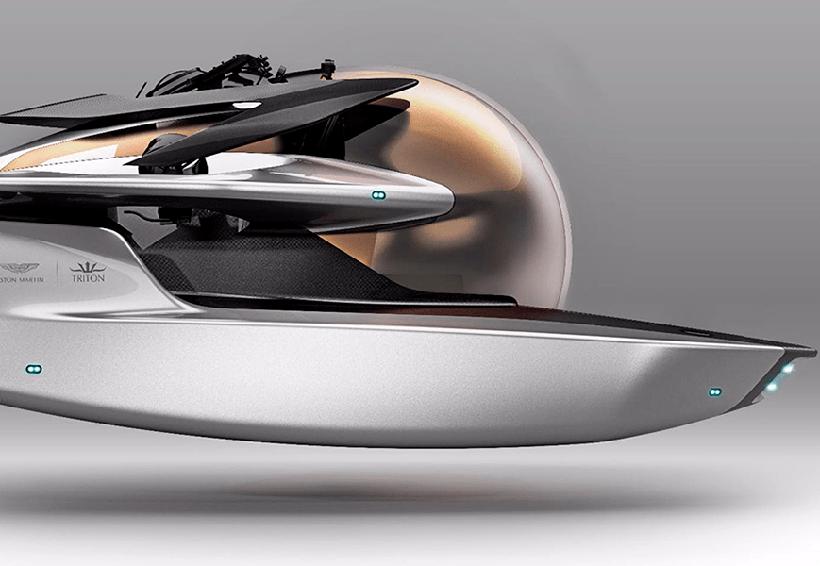 Aston Martin presenta un elegante submarino | El Imparcial de Oaxaca