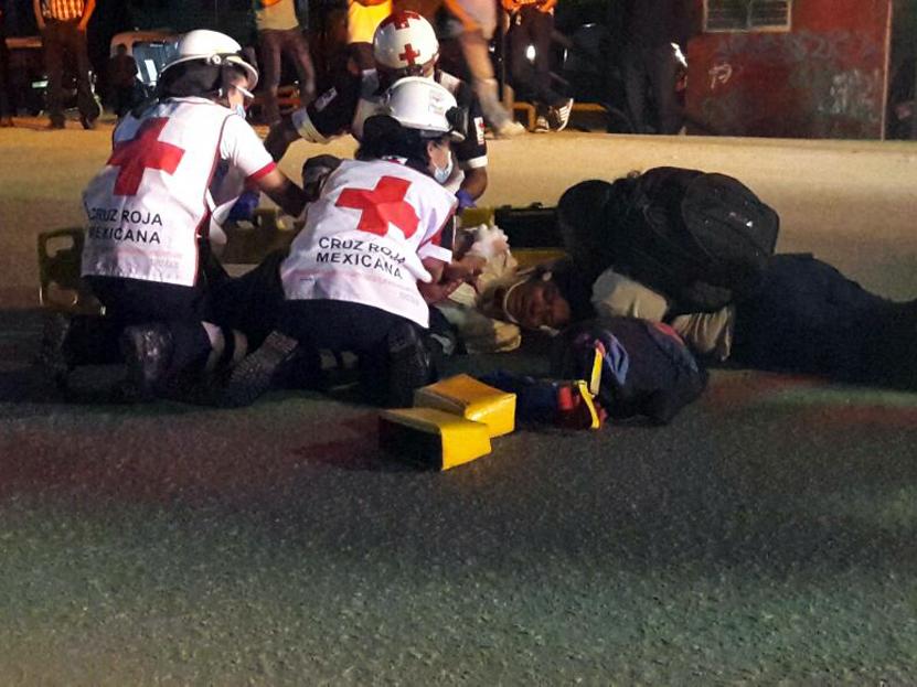 Atropellan a peatones y escapan tras el accidente en Oaxaca | El Imparcial de Oaxaca