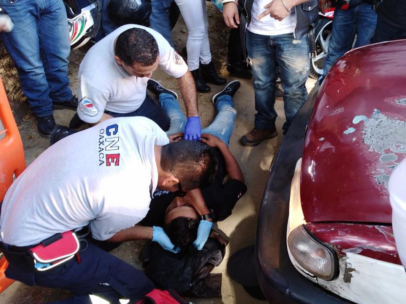 Atropellan a biker en San Jacinto Amilpas, Oaxaca | El Imparcial de Oaxaca