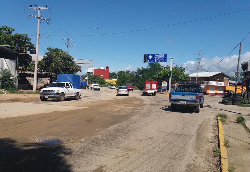 Deplorables las calles de Puerto Escondido, Oaxaca | El Imparcial de Oaxaca