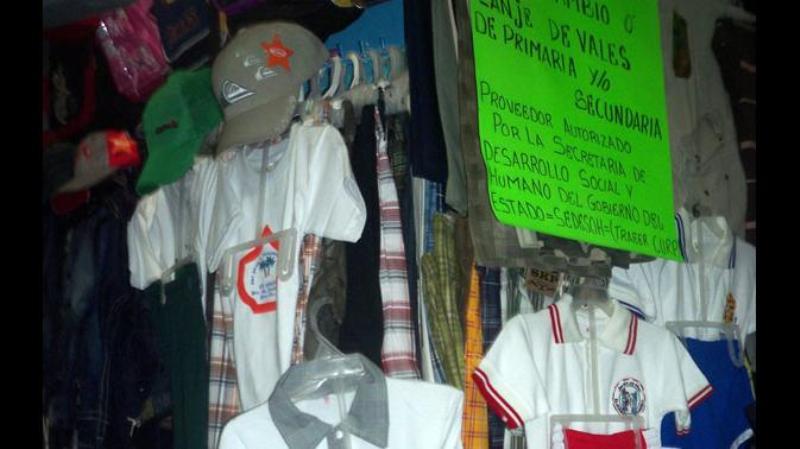 Canaco supervisa transparencia en comercios de la Cuenca que reciben vales de uniformes | El Imparcial de Oaxaca