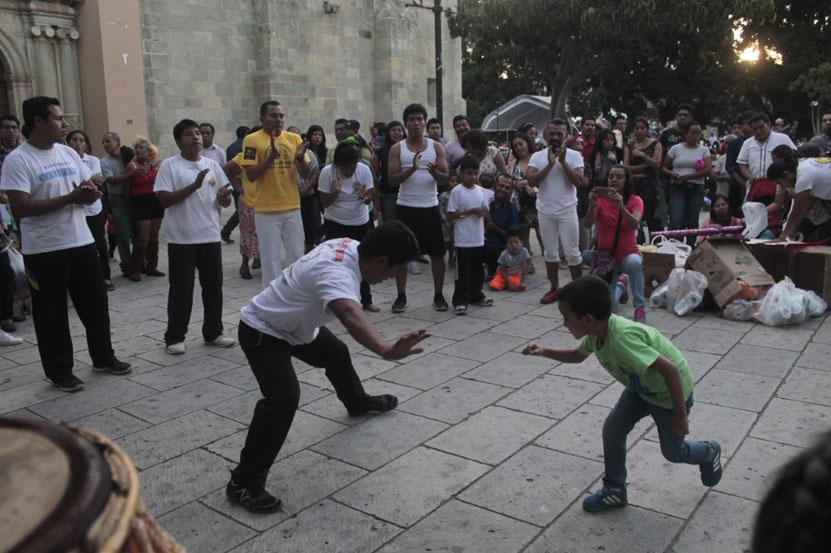 Capoeira alista sus movimientos | El Imparcial de Oaxaca
