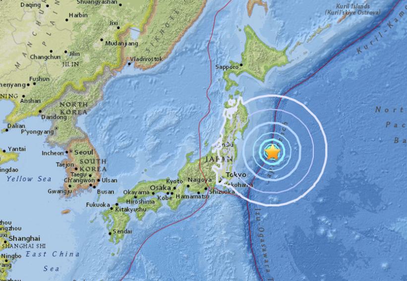 Sismo de magnitud 6,0 sacude la costa este de Japón | El Imparcial de Oaxaca