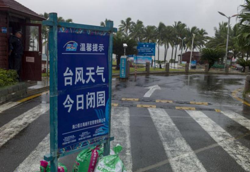 China en alerta ante llegada del tifón Khanun   El Imparcial de Oaxaca