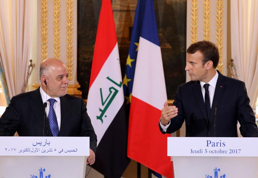 Macron pide a Irak reconocer derechos de kurdos   El Imparcial de Oaxaca