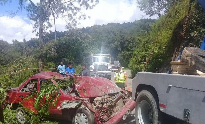 Muere tras volcadura en Huajuapan de León, Oaxaca | El Imparcial de Oaxaca