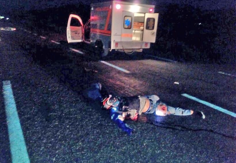 Muere motociclista en accidente carretero en Ocotlán, Oaxaca | El Imparcial de Oaxaca