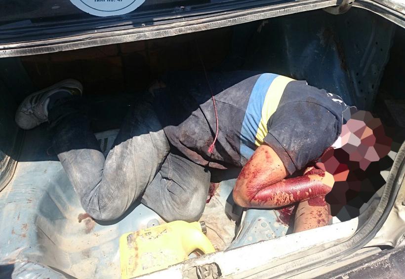 Encuentran cuerpo sin vida en la cajuela de una automóvil   El Imparcial de Oaxaca