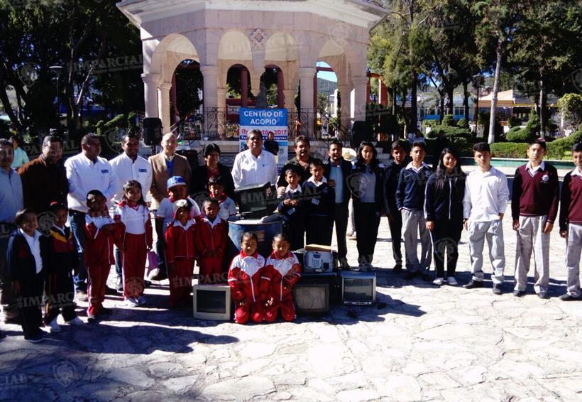 Realizan en Tamazulápam, Oaxaca campaña de reciclaje de basura electrónica   El Imparcial de Oaxaca