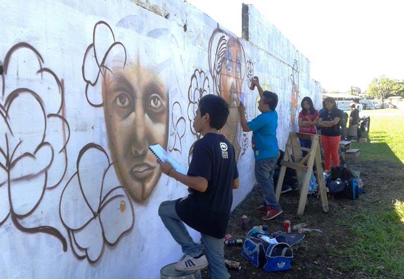 Invitarán a grafiteros a plasmar pintas en bardas de panteones de la Cuenca | El Imparcial de Oaxaca