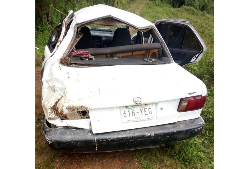 Muere tras volcar auto en Itundujia, Oaxaca | El Imparcial de Oaxaca