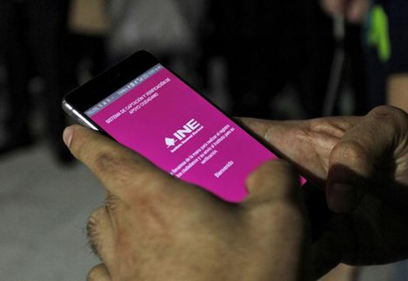 Por fallas en app, piden al INE más tiempo para juntar firmas | El Imparcial de Oaxaca
