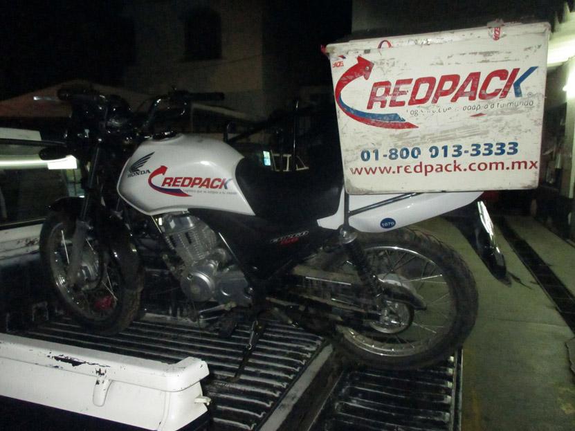 Abandonan moto reportada robada en San Felipe del Agua | El Imparcial de Oaxaca