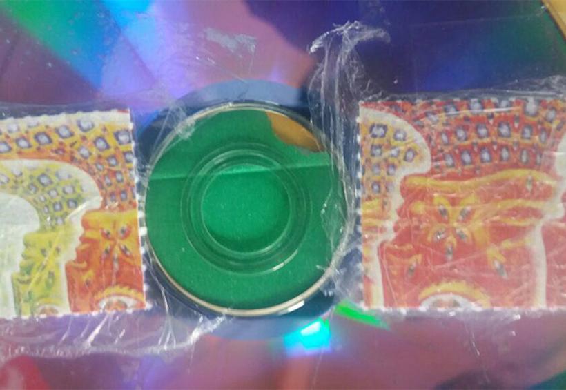 Aseguran 50 dosis de droga LSD adheridos en un disco compacto | El Imparcial de Oaxaca