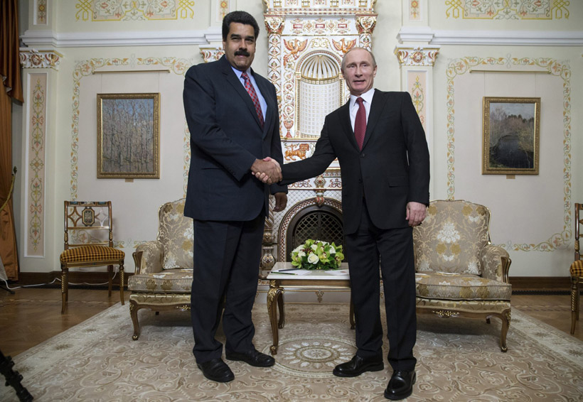 Maduro agradece a Putin apoyo en 'momentos difíciles' de Venezuela | El Imparcial de Oaxaca