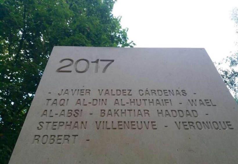Incluye Premio francés a Javier Valdez, en Memorial de Reporteros | El Imparcial de Oaxaca