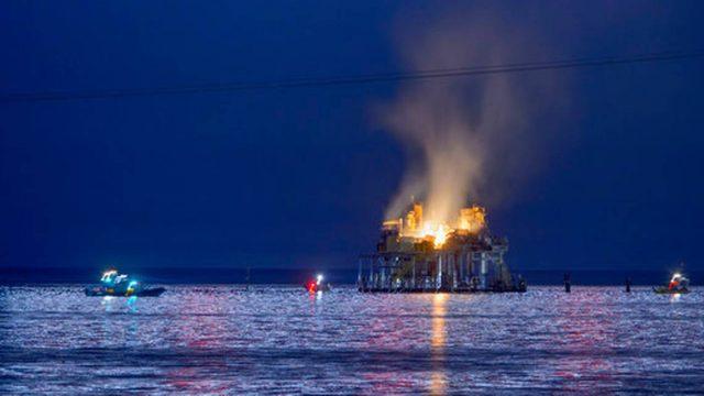 Explota plataforma de gas en EUA, hay un desaparecido | El Imparcial de Oaxaca