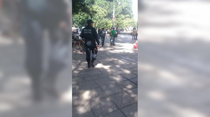 Los retiran del zócalo de Oaxaca por rijosos | El Imparcial de Oaxaca