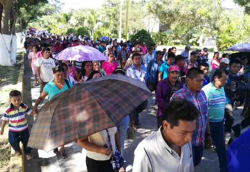 Habitantes de la Costa de Oaxaca exigen esclarecimiento del asesinato de Heriberto Pazos | El Imparcial de Oaxaca