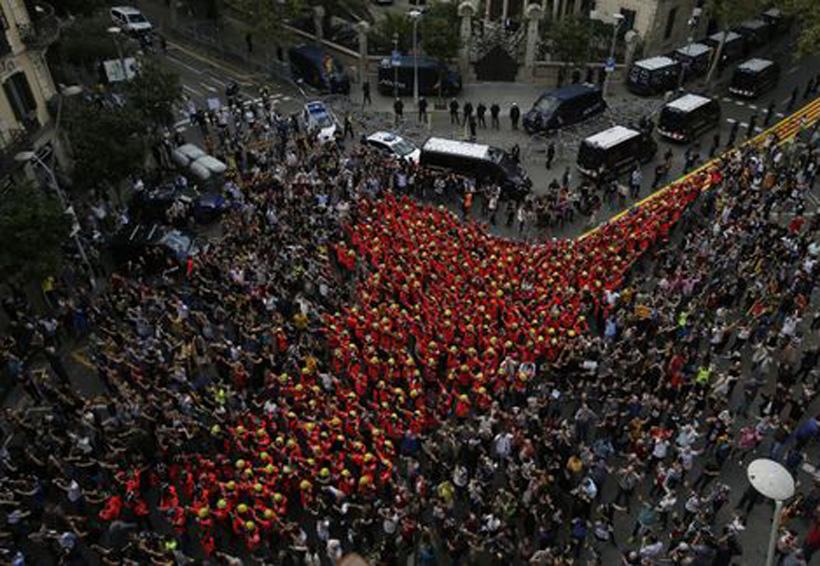 En Barcelona protestan contra la violencia policial | El Imparcial de Oaxaca