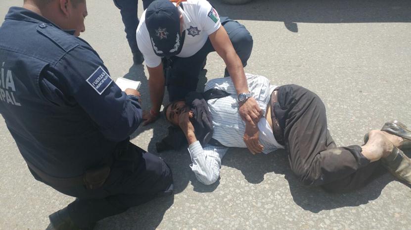 Atropella a peatón y derrapa en Santa Cruz Xoxocotlán, Oaxaca | El Imparcial de Oaxaca