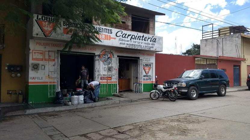 Se incendia tienda  en colonia Volcanes, Oaxaca | El Imparcial de Oaxaca