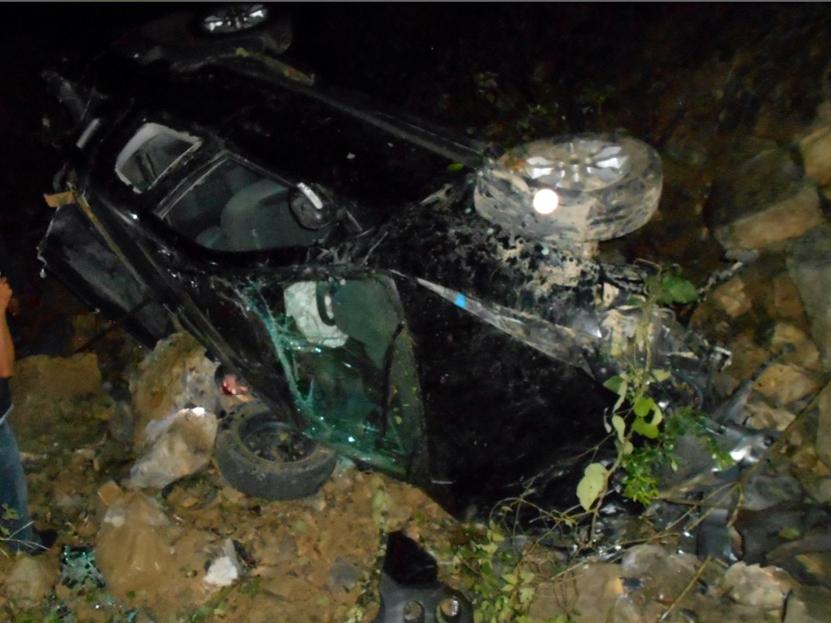 Muere prensado en volcadura tesorero municipal de Santa María Teopoxco, Oaxaca | El Imparcial de Oaxaca