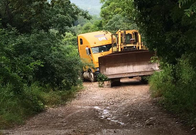 Rehabilitan caminos afectados por tormenta en Cuicatlán, Oaxaca | El Imparcial de Oaxaca